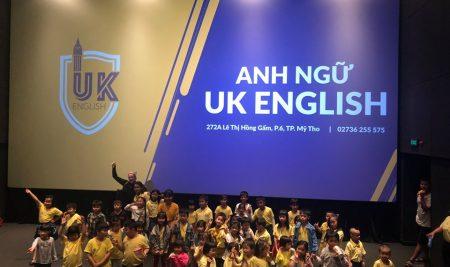 NGOẠI KHÓA THÁNG 8: BUỔI XEM PHIM THEO CHỦ ĐỀ CỦA HỌC VIÊN UK ENGLISH
